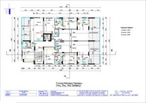 Vlachou Flats Typical Floor Layout